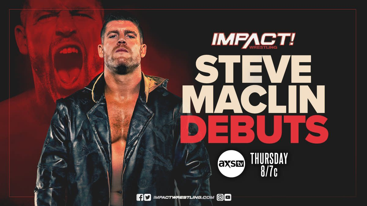 Steve Maclin arrives in Impact Wrestling