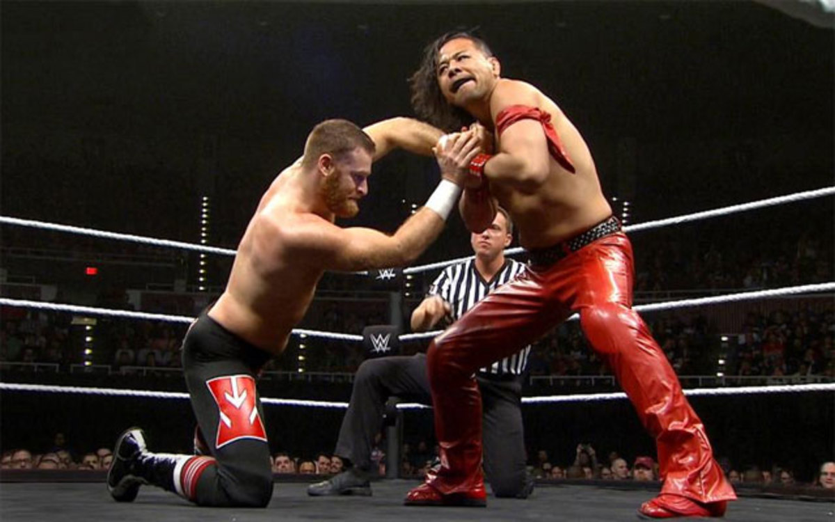 Nakamura vs. Sami Zayn