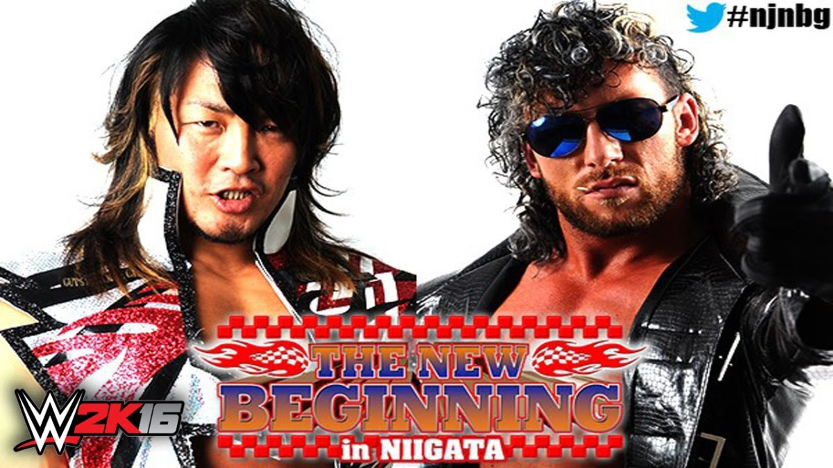 Hiroshi Tanahashi vs. Kenny Omega at NJPW The New Beginning